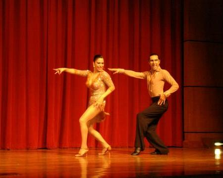 Azucena & Carlos at the Houston Salsa Congress 2006
