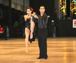 Carlos and Azucena competing at the World Salsa Championships 2005