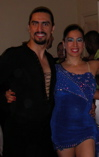 Carlos and Azucena at the TX Salseros Open