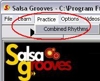 Open the Combined Rhythms Session