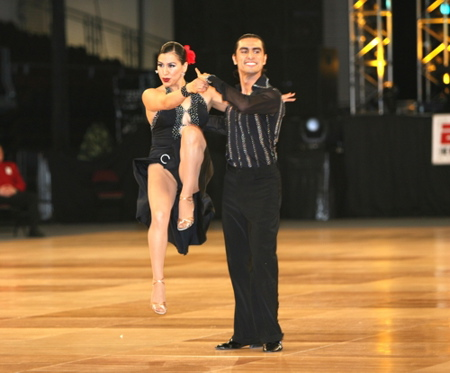 Azucena & Carlos during the World Salsa Championships 2005